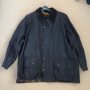 Men's Classic Barbour Beaufort Jacket w Pile Liner